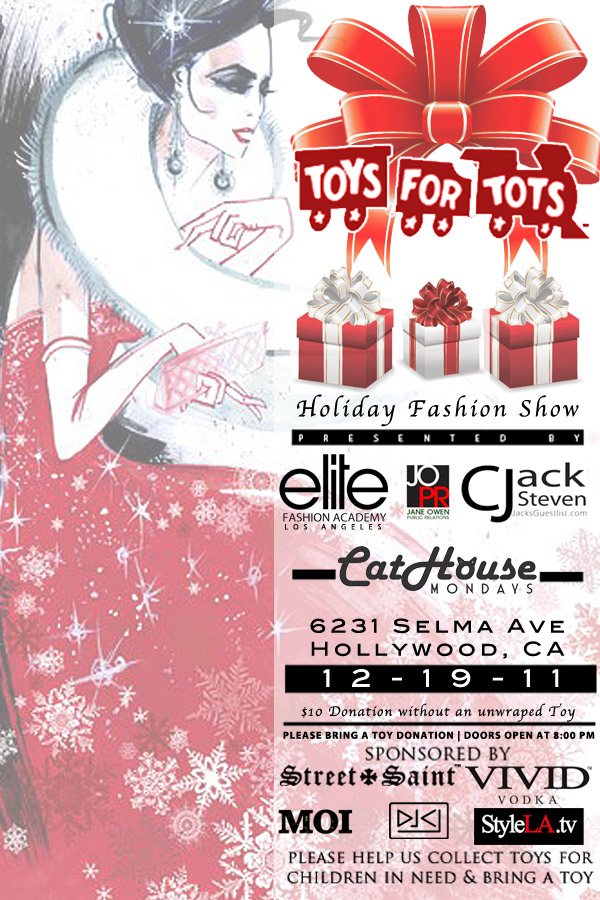 Toys For Tots Introduction : Toys for tots holiday charity fashion show « elite